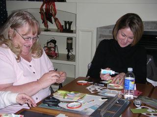 Judy and Jen B