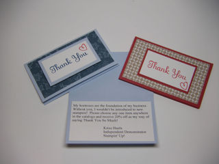 20% off Thank You Cards