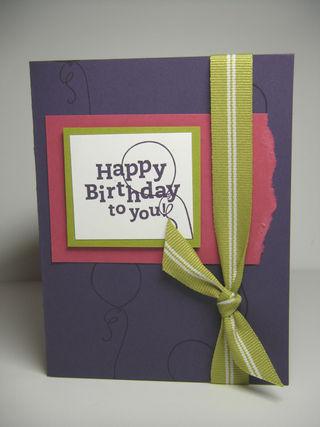 Purple Happy Birthday 0209