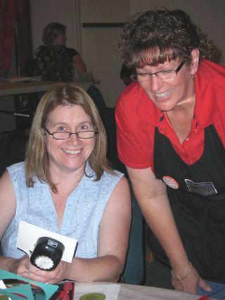 Liz and Debbie