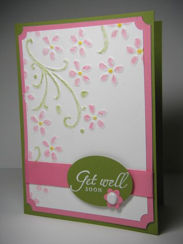 Get Well Embossed 0709